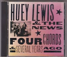 Four Chords & Several Years Ago by Huey Lewis & the News (CD, May-1994, Elektra