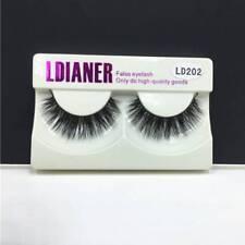 1 Pairs Soft 3D Mink Natural False Fake Eyelashes Eye Lashes Makeup Extension