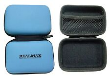 Blue Hard Shock Water Proof PULeather Digital Camera Case Cover Bag Sony Samsung