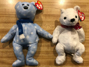 Ty Beanie Babies Holiday 1999 and 2000