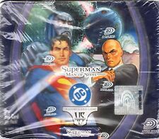 VS VERSUS SYSTEM Superman Man of Steel BOX 24 PACKS NEW SEALED ENG