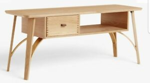 """John Lewis & Partners Branch TV Stand for TVs up to 60"""", Oak £499.00"""