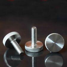4pcs M8 Knurled bolt Stainless steel hand screw pinwheel screws