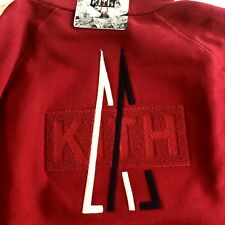 Moncler Kith Men's Cardigan Hoodie Red Size XXL Oversize Runway Edition Italy
