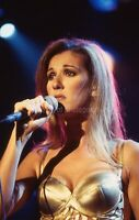 Singer CELINE DION  35mm FOUND SLIDE Transparency FREE SHIPPING Photo 010 T 17 M