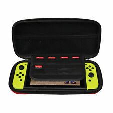 Nintendo Switch Carrying Case w/ 8-Game Cart Slots & Screen Protector by Ematic