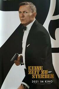 5 x James Bond  - keine Zeit zum sterben - Charaktere Poster  -  A0 Filmplakat