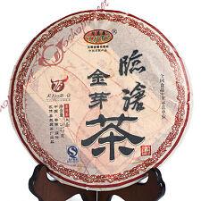 2010 357g Top Yunnan LinCang Golden Buds Pu'er puerh Puer pu erh Ripe Cake Tea