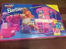 Not available anywhere. Barbie Hollywood Hair Salon Boutique 1993