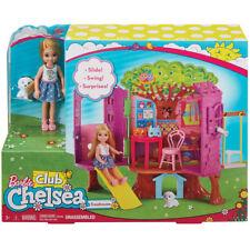 Muñeca Barbie club Chelsea Treehouse & Conjunto de Juego Nuevo