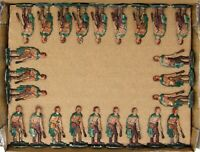 "Kieler Zinnfiguren Flat Toy Soldiers 30mm.  ""Roman Slingshots"". 24 Figures."