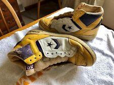Converse Weapon Gold Sneaker --  Lakers Magic Johnson size 10.5