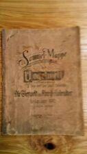 SBA Sammelbilderalbum 1910 Sammelmappe Vogelwelt Mauderode