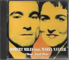 """ROBERT MILES feat. MARIA NAYLER - RARO CD DANCE MADE IN ITALY """" ONE AND ONE """""""