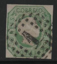 Portugal SC #7 Used, FVF, Imperf Classic Stamp, CV $70.00