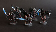 Pro painted Warhammer 40k Flesh Tearers Sanguinary Guard miniatures