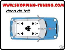 STICKERS KIT DECO TOIT BMW MINI COOPER ONE AUSTIN TREFL