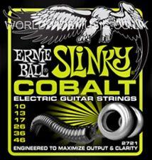 1 Set De Ernie Ball Regular Slinky Cobalt 10 - 46 Guitarra Eléctrica Cuerdas (2721)