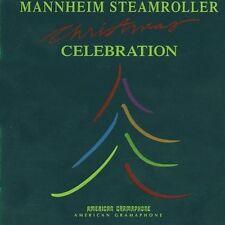 Christmas Celebration-Mannheim Steamroller- LIKE NEW-CD12