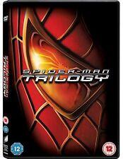 SPIDER MAN Trilogy DVD Complete Collection Part 1+2+3 TOBY MCGUIRE SAM RAIMI