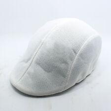 Men's Summer Plain Linen Newsboy Gatsby Cap Ivy Hat Golf Driver Flat Cabbie US