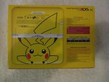 NINTENDO 3DS XL -  PIKACHU YELLOW LIMITED EDITION + CASE + CHARGER (BOXED 1)