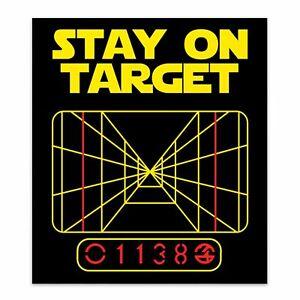 Star Wars   Stay on Target   Sticker