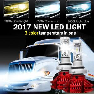 9006 LED Headlight Bulb For International Truck Pro Star Prostar 2008-2017 (LOW)