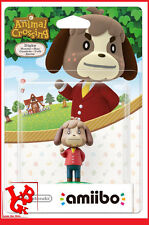 AMIIBO DIGBY MAX Animal Crossing Wii-U Wii U 3DS Nintendo Jeu Video  # NEUF #