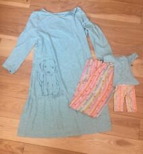 Retired American Girl Doll Matching Honey and Friends Pajamas Size Xl