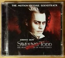 Stephen Sondheim : Sweeney Todd Soundtrack CD