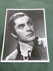 TYRONE POWER  BLACK AND WHITE PUBLICITY PHOTOGRAPH  7.75 X 10