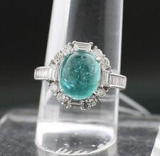 Reinheit VS Sehr gute Echte Diamanten-Ringe im Solitär mit Akzentsetzung-Stil aus Weißgold