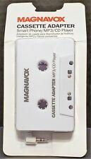 Maganvox Cassette Adapter - Smart / Mp3 / Cd Player - Nip - Free Shipping