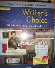 Glencoe Writer's Choice, Gr 9, Teacher Wraparound Ed, 2009,  9780078887734
