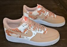 NEW NIKE AIR FORCE 1 '07 LV8 MEN'S SHOES SIZE 12.5 DESERT CAMO BEIGE