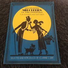 JO ANNE C. DAY. DECORATIVE SILHOUETTES OF THE TWENTIES FOR DESIGNERS AND CRAFTEM