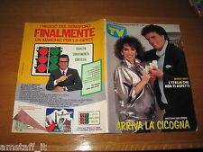 TV SORRISI E CANZONI=1987/4=CHRISTIAN=DORA MORONI=WALTER CHIARI=ALICE=