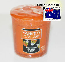 YANKEE CANDLE Votive Candle ** Candy Corn * HALLOWEEN * 15 HOURS BURNING