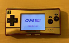 RARE Nintendo Gameboy Micro Famicom Console 20th Anniversary Pokemon Fire Red