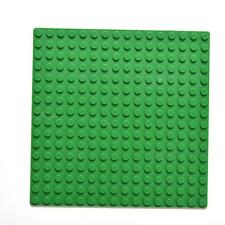 NEW Lego compatible green Baseplates Base Plate Building blocks bricks 16x16