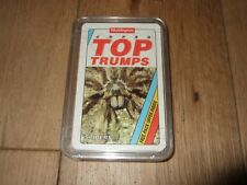 SPIDERS SUPER TOP TRUMPS RARE CARD GAME WADDINGTONS COMPLETE 30 CARDS EXCELLENT