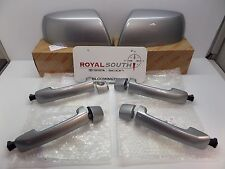 Toyota Tundra Silver Sky Mirror Covers & 4 Door Handle Kit Genuine OE OEM
