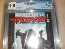 ULTIMATE COMICS SPIDER-MAN 1 CGC 9.8 ORIGIN OF SPIDER-MAN MILES MORALES 1ST SOLO