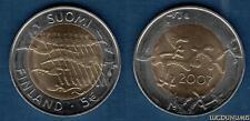 Finlande - 5 Euro 2007 90 Ans de L'Indépendance - Suomi Finland