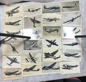 Valentine's 'Aircraft' Recognition Cards - 83