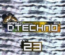 D.TECHNO 23/GARY D. 3 CD NEU - PROJECT ONE, DONKEY ROLLERS, NAGOOM, FRONTLINER