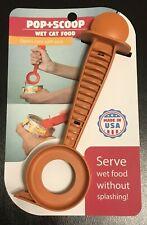 New Pop+Scoop Wet Cat Food Scooper - Pop + Scoop