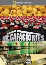 Megafactories Everyday Icons : National Geographic 2 Disc Set : New DVD : R4