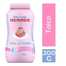 2X Mennen Baby Magic Powder Talc / Talco Mennen Para Bebes Rosa 200G